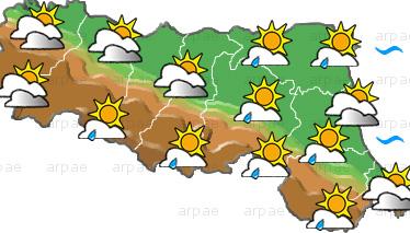 Previsioni meteo Emilia Romagna, mercoledì 12 maggio