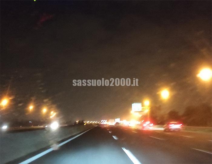 In A13 chiusure notturne del tratto tra Occhiobello e Rovigo sud Villamarzana, verso Padova
