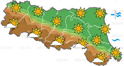 Previsioni meteo Emilia Romagna, domenica 5 settembre