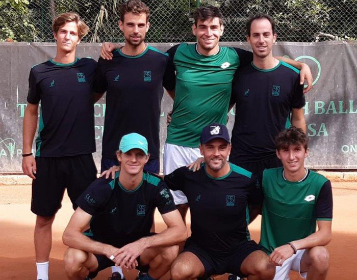 Tennis: Males's Serie A1; debut with a draw for Sporting Membership Sassuolo