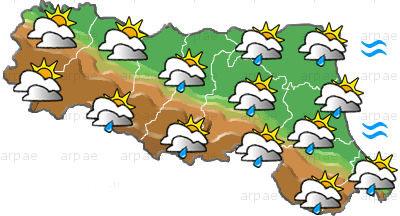 Previsioni meteo Emilia Romagna, mercoledì 13 ottobre